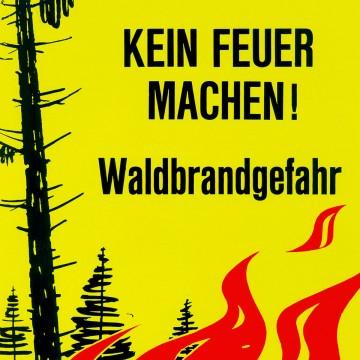 Die Waldbrände vermeiden