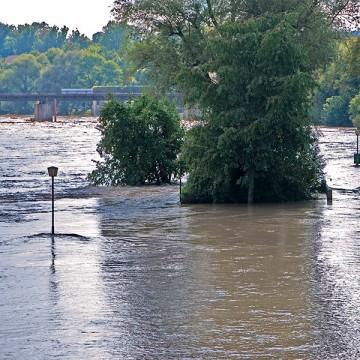 Entstehung von Überschwemmungen